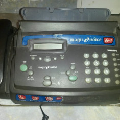 FAX-Telefon digital cu display - PHILIPS 6 in 1 - Magic 2 Voice