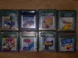 8 jocuri Gameboy color GB ( Tin Tin , Aterix Obelix , PopwePuff Girls