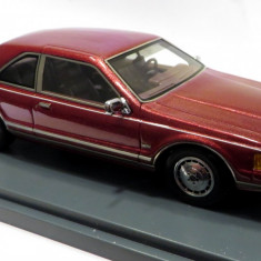 NEO Models Lincoln MK VII LSC coupe rosu burgundy 1:43