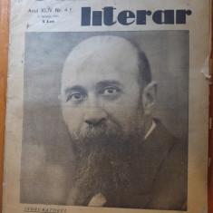 revista universul literar 22 ianuarie 1928 -foto si articol despre nicolae iorga