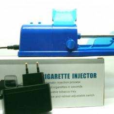 Aparat electric de facut tigari, INJECTAT TUTUN IN TUBURI - Aparat rulat tigari