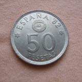 JN. 50 pesetas 1980 Spania, Europa