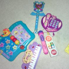 Lot jucarii muzicale pianina telefon baghrta - Instrumente muzicale copii