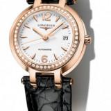 Ceas dama LONGINES PRIMA LUNA: aur+diamante(cadou ideal logodna,aniversari etc.)