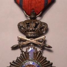 Ordinul Steaua Romaniei Cavaler Militar pe timp de pace Primul Model