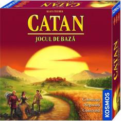 Joc de societate Kosmos Colonistii din Catan, Jocul de baza, nou, sigilat - Joc board game