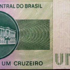 Bancnota 1 Cruzeiro - BRAZILIA, 1975 UNC - bancnota america