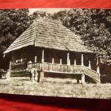 Ilustrata - Satul Vladimiri -Casa Muzeu T.Vladimirescu, jud.Gorj, circ.1971 - Carte Postala Oltenia dupa 1918, Circulata, Fotografie