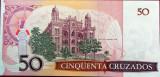 Bancnota 50 Cruzados - BRAZILIA, anul 1986 UNC