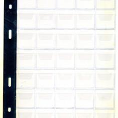 Folii pentru monede cu 35 compartimente
