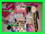 Cumpara ieftin Kit unghii false gel set manichiura -freza,lampa,geluri colorate,tipsuri - BEST