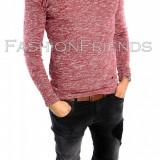 Bluza tip ZARA fashion grena - bluza barbati - cod produs: 5670