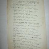 Teodor V. Ștefanelli, lot 4 poezii - Autograf
