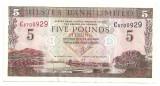 IRLANDA ULSTER BANK LIMITED 5 POUNDS LIRE 2001 VF