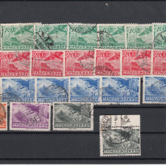 UNGARIA 1936, LOT OLD STAMPS USED, LOT 1 ST, Stampilat
