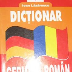 Dictionar german-roman de Ioan Lazarescu