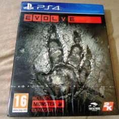Evolve, PS4, original si sigilat, alte sute de jocuri! - Jocuri PS4, Actiune, 18+, Single player