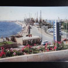 SEPT15-Vedere/Carte postala-Constanta-Vedere din port-NAVROM-circulata, Printata