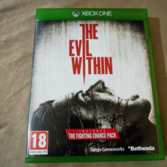 The Evil Within, XBOX One, original, alte sute de jocuri!, Actiune, Single player, 18+