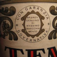 Brandy tenerelli, garanzia governo italy, puro distillato di vino cc 1000, gr 40 - Cognac