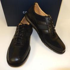 PANTOFI COLE HAAN GRANDSPRINT SPORT OXFORD II NEGRU PIELE - Pantofi barbat Cole Haan, Marime: 42.5, Piele naturala