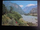 SEPT15-Vedere/Carte postala-Oltul la Cozia-Intreg postal-necirculata
