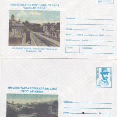 Bnk fil Lot 2 intreguri postale 1996 - Valenii de Munte