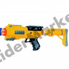 Pusca cu gloante din burete Super Dart Gun 1302 - Pistol de jucarie