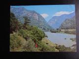 SEPT15-Vedere/Carte postala-Oltul la Cozia-Intreg postal-circulata