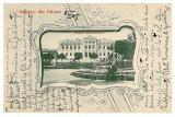 3153 - Arges, PITESTI, Primaria - old postcard - used - 1905, Circulata, Printata