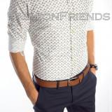 Camasa tip Zara bumbac - camasa petrecere - camasa barbati - cod produs: 5213, Marime: XL, Culoare: Din imagine, Maneca lunga