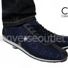 Adidasi Tenesi - Calvin Klein - Model Casual - Model NOU - Pret special - - Adidasi barbati Calvin Klein, Marime: 42, 44, Culoare: Din imagine, Textil