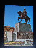SEPT15-Vedere/Carte postala-Cluj-Napoca-Statuia lui Mihai Viteazul-circulata, Printata