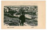 3152 - Arges, PITESTI, Panorama - old postcard - used, Circulata, Printata