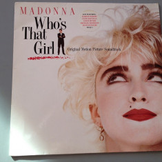 Madonna - Who's That Girl (1987 / Warner REC/ RFG ) - Vinil/Pop/Vinyl/Impecabil - Muzica Rock