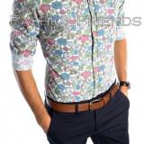 Camasa tip Zara bumbac - camasa petrecere - camasa barbati - cod produs: 5215
