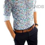 Camasa tip Zara bumbac - camasa petrecere - camasa barbati - cod produs: 5214, Marime: M, L, Culoare: Din imagine, Maneca lunga