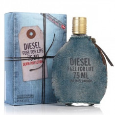 Diesel Fuel for Life Denim Collection Pour Homme EDT Tester 75 ml pentru barbati - Parfum barbati Diesel, Apa de toaleta