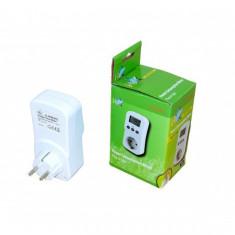 Priza wattmetru cu contor consum energie HQ - Priza si intrerupator