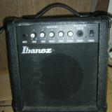 AMPLIFICATOR IBANEZ MODEL GTA10, FUNCTIONEAZA . - Amplificator Chitara
