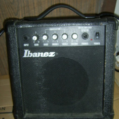 AMPLIFICATOR IBANEZ MODEL GTA10, FUNCTIONEAZA . - Amplificator Chitara