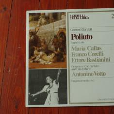Disc vinil ( vinyl , pick-up ) - GAETANO DONIZETTI - POLIUTO !