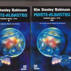 kim stanley robinson - marte albastru  ( sf )