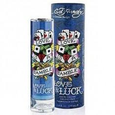 Christian Audigier Ed Hardy Love&Luck EDT Tester 100 ml pentru barbati - Parfum barbati Ed Hardy, Apa de toaleta