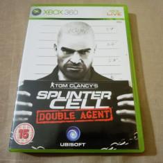 Joc Tom Clancy's Splinter Cell Double Agent, xbox360, original, 24.99 lei! - Jocuri Xbox 360 Ubisoft, Shooting, 18+, Single player