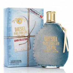 Diesel Fuel for Life Denim Collection Pour Femme EDT Tester 75 ml pentru femei - Parfum femeie Diesel, Apa de toaleta