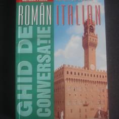 MARIAN SANDULESCU - GHID DE CONVERSATIE ROMAN ITALIAN - Dictionar