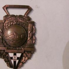 CY - Medalie veche Portugalia Honra natatie inot bronz si email