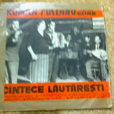 Romica Puceanu taraful fratii gore Muzica Lautareasca electrecord populara disc 10 vinyl, VINIL