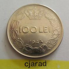 Moneda 100 lei - ROMANIA, Regat 1944 *cod 1267 xf+ - Moneda Romania